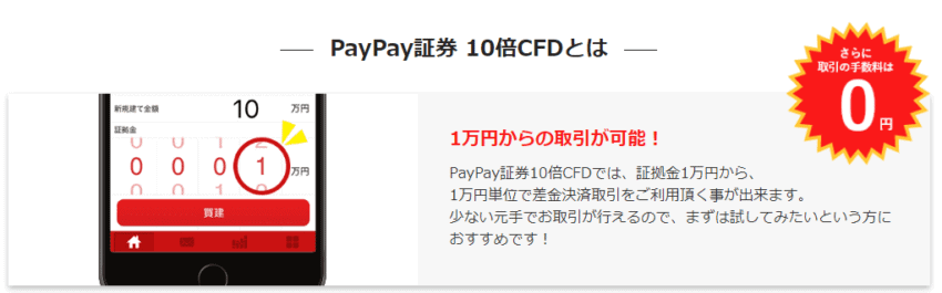 paypay CFD