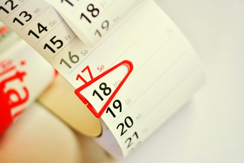 権利落ち日 カレンダー